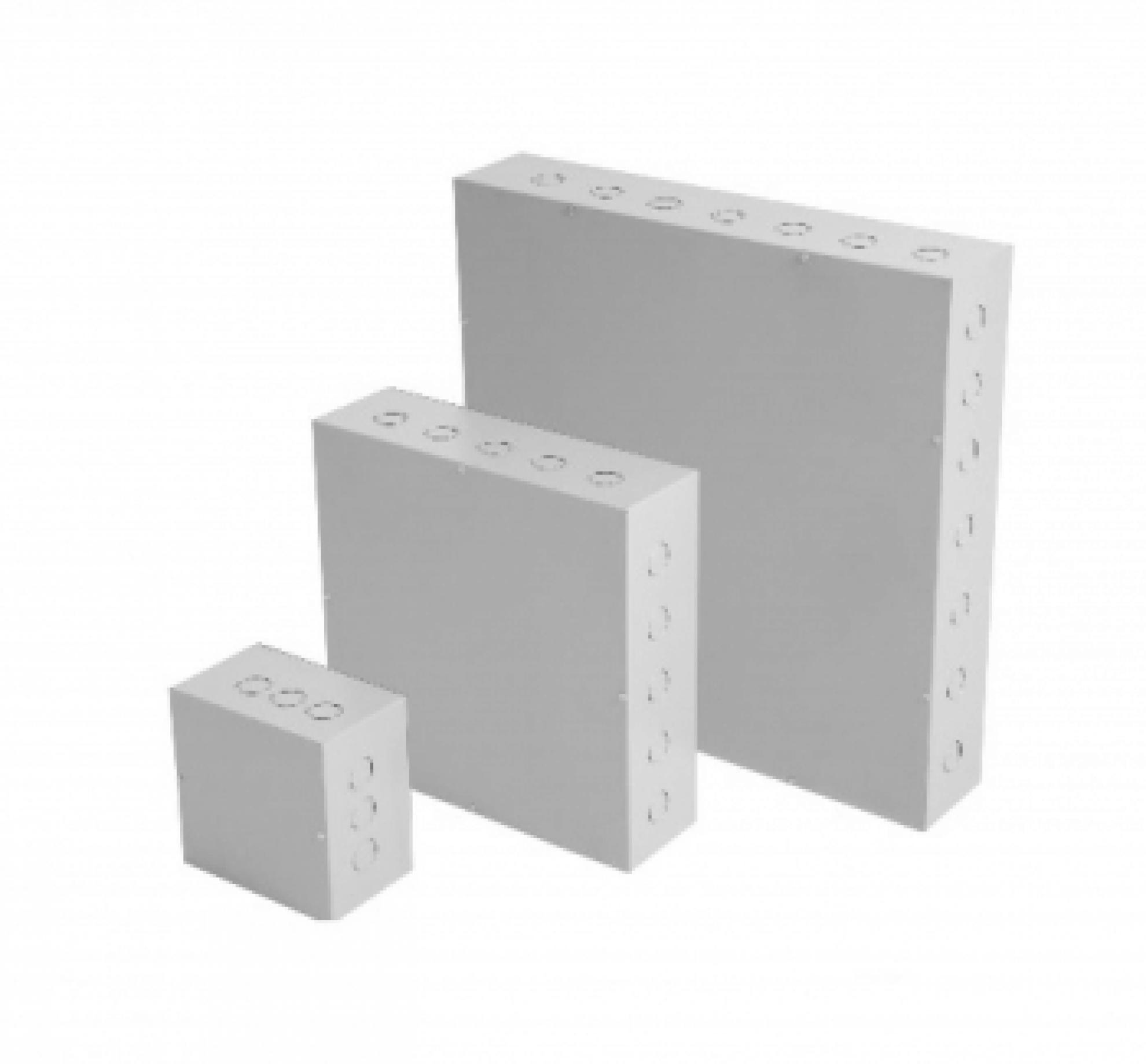Caixa de Passagem para instala��o embutida 500x500x120MM