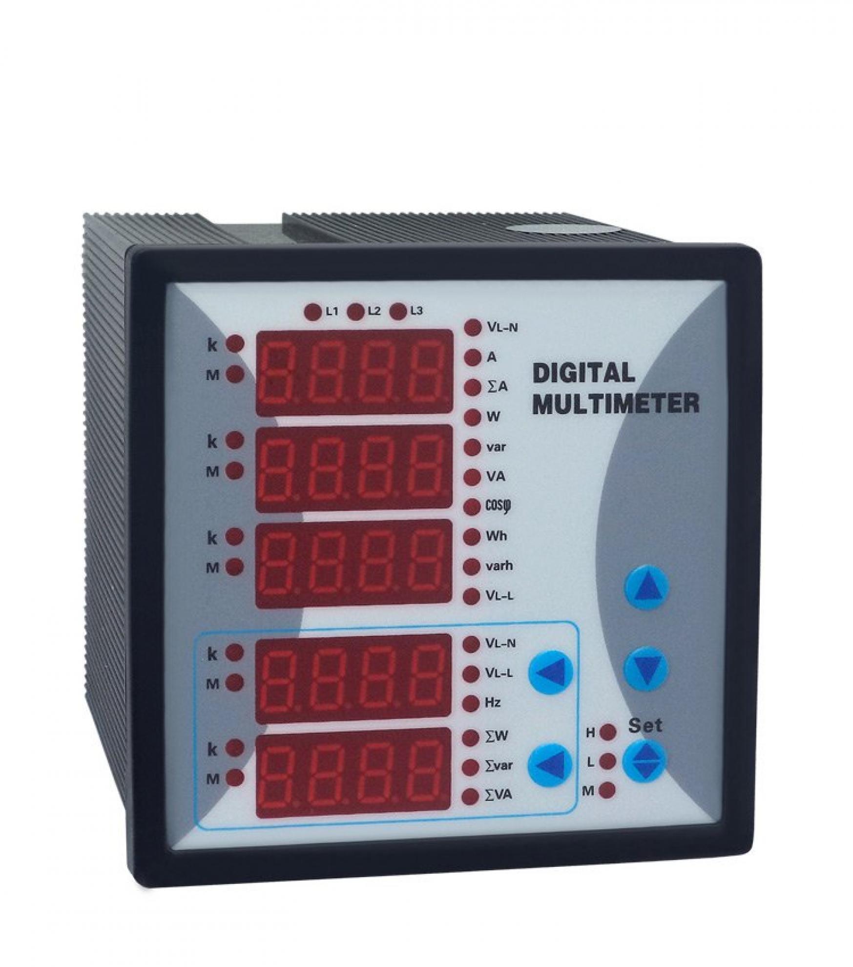 Multimedidor AOB292E-9D5 Trif�sico com 4 Sa�das Anal�gicas e Porta RS485 - 96X96mm