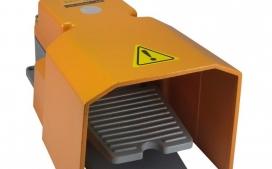 Pedaleira SFMS1 Corpo met�lico com Capa Protetora Superior e Lateral com 1 Contato Revers�vel