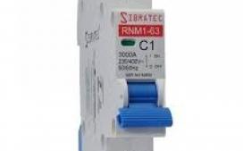 Disjuntor DIN Unipolar 1A C SRNM-C11