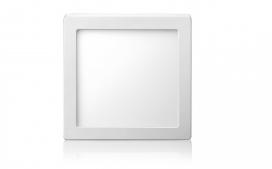 Plafon LED Quadrada de Sobrepor 18W