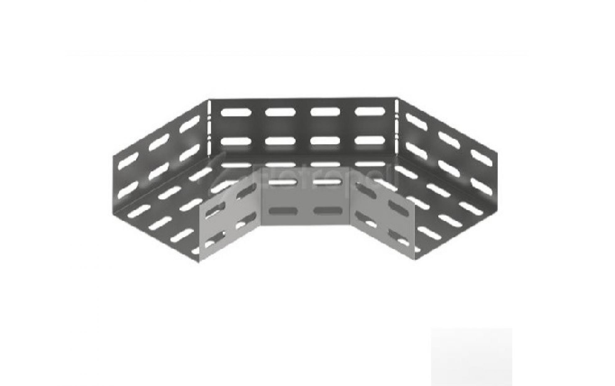 Curva horizontal perfurada 100x50 90�
