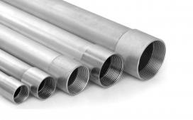 Eletroduto galvanizado a fogo 1/2 polegadas - Leve