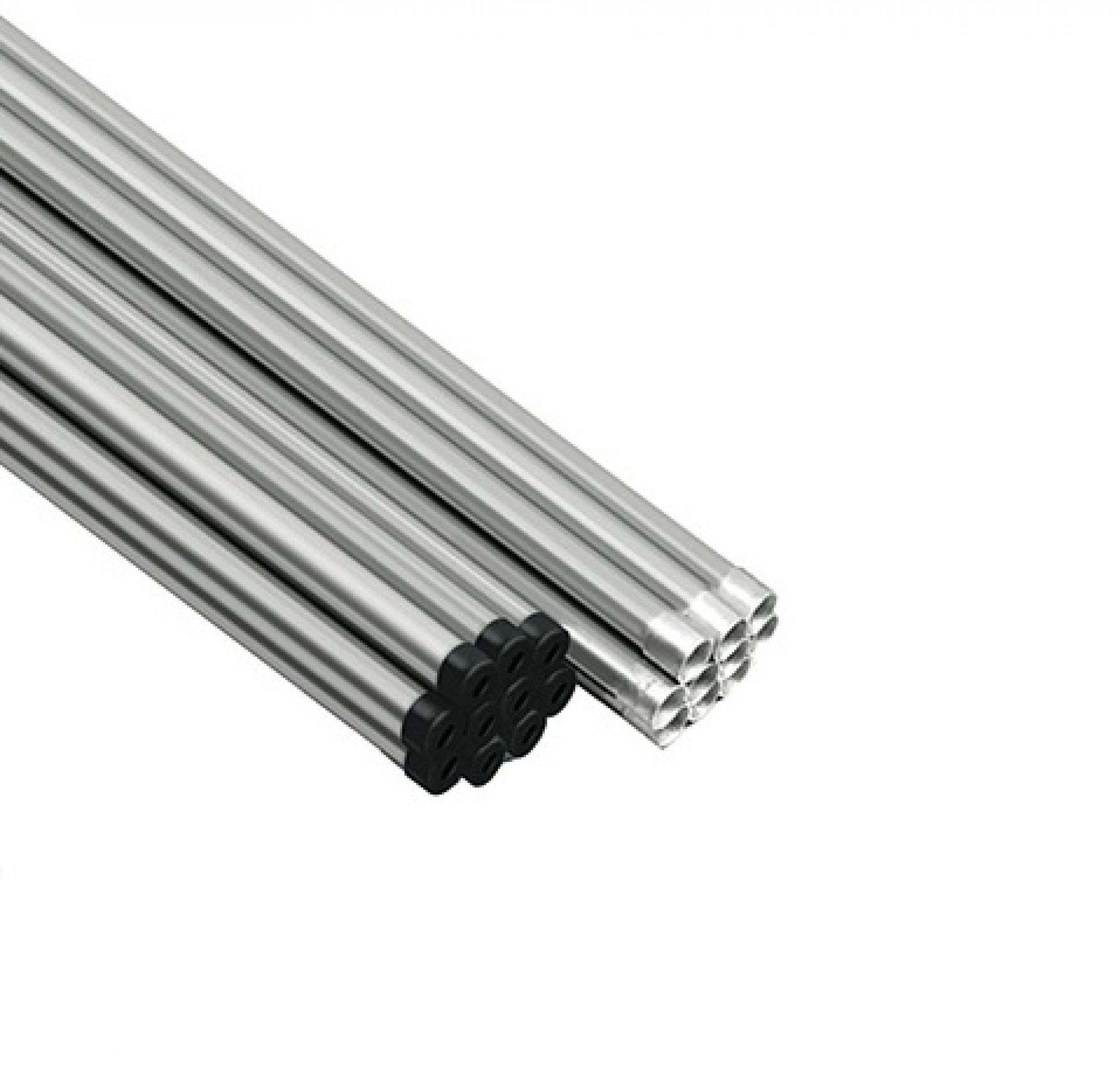 """Eletroduto galvanizado eletrol�tico 1/2"""" - Leve"""