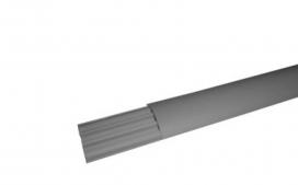 Caneleta Cinza - 30x30x2000mm Fechada