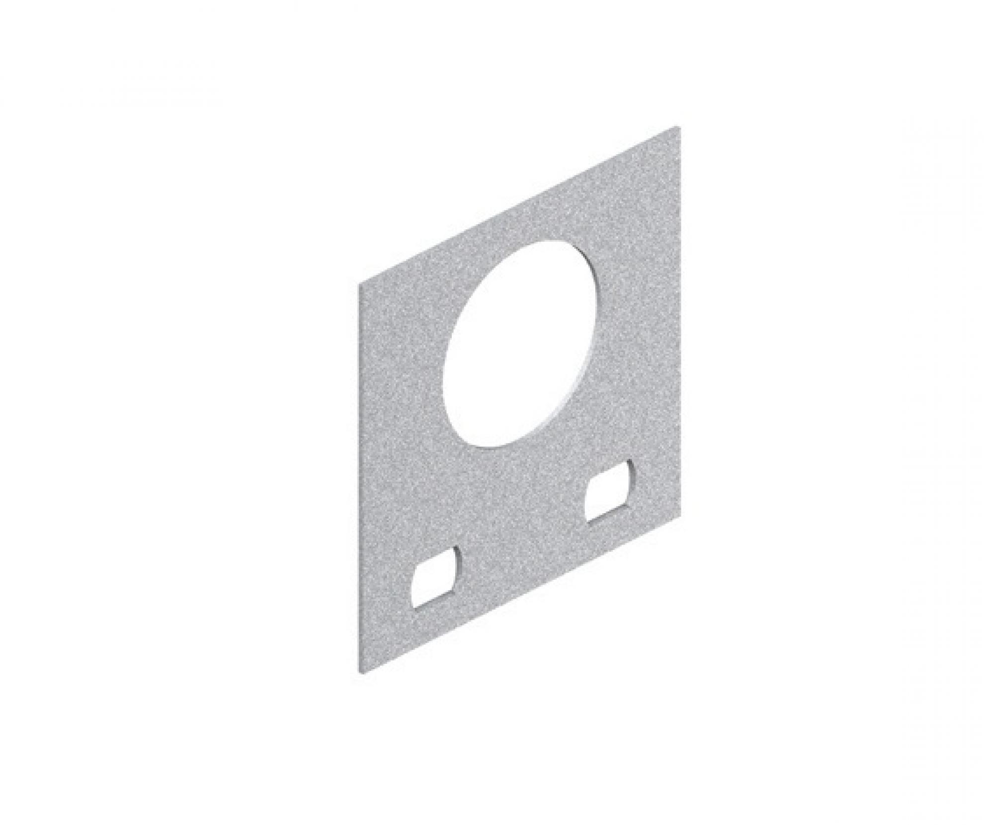 """Saida horizontal para eletroduto 1.1/2"""" - Zincada"""