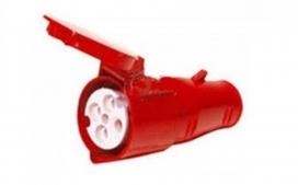 Acoplamento industrial 3P+T 16A - 380/440V