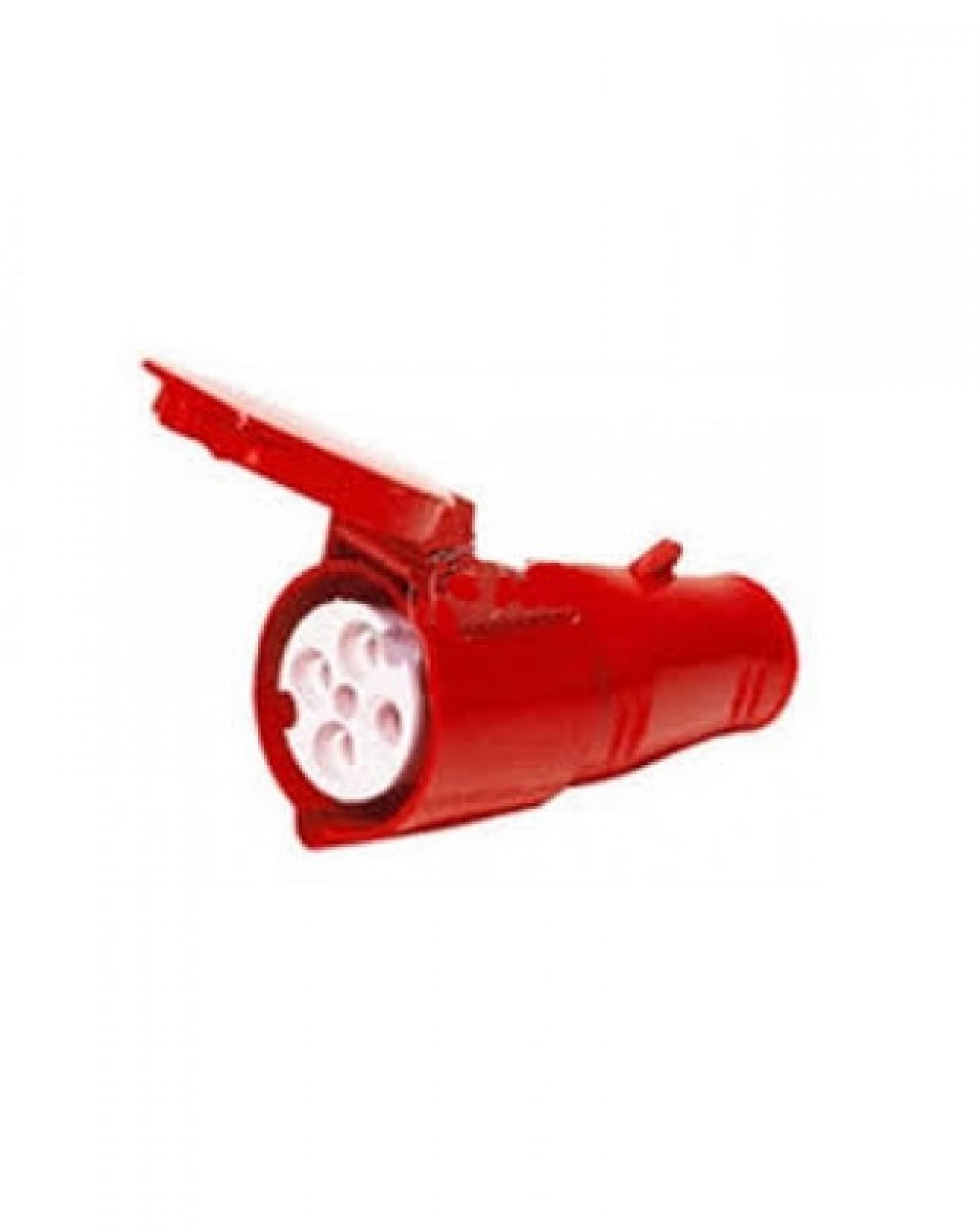Acoplamento industrial 2P+T 32A 380/440V