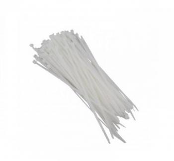 Abra�adeira nylon 100x2  5MM - Branco