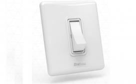 Interruptor com 1 tecla - Paralelo branco