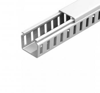 Canaleta 50x50 Semi aberta - Branco