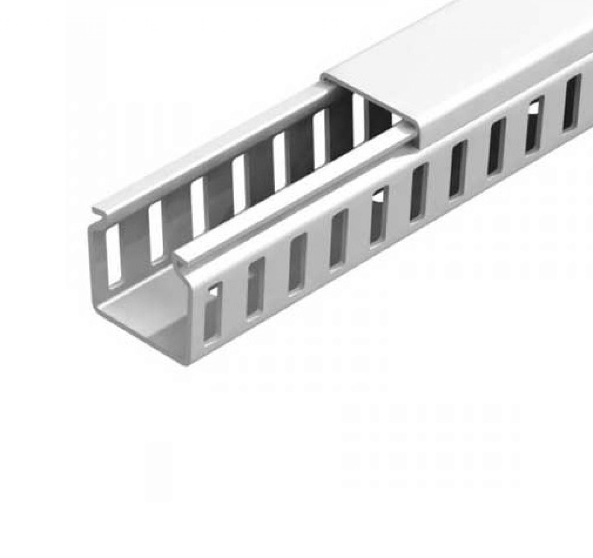 Canaleta 30x30 semi aberta- Branco
