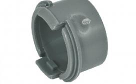 "Adaptador PVC 1/2"" polegadas - Cinza"