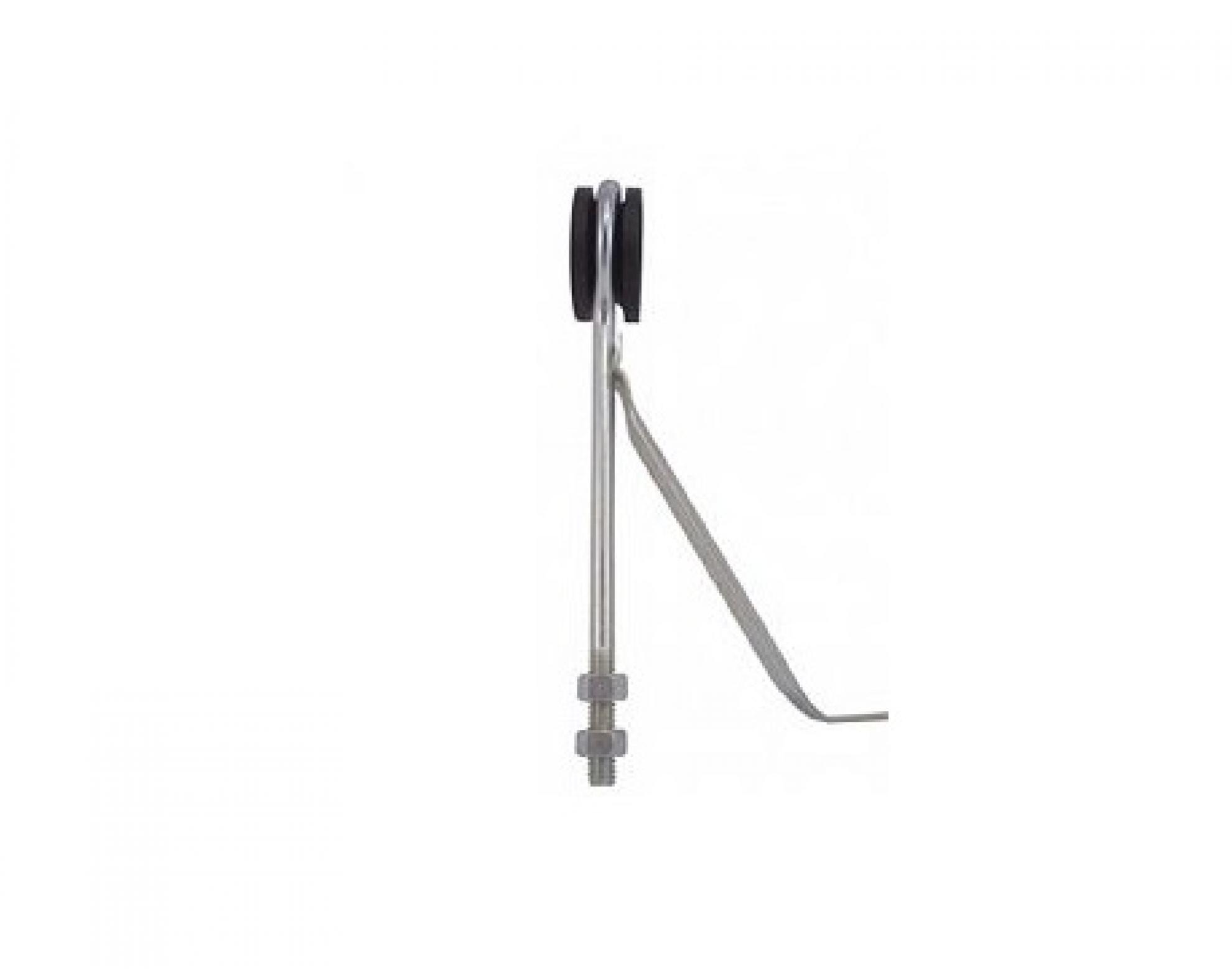 Isolador refor�ado fixa��o - Rosca mecanica