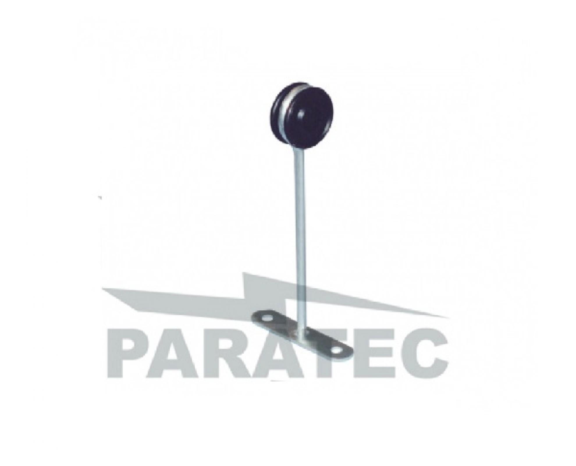 Isolador simples com chapa - Encosto horizontal