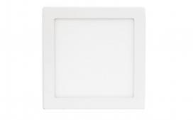Plafon LED quadrado - 18W