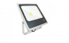 Refletor slim LED - 100W / Cinza