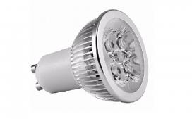 Lampada LED dicroica GU10 - 5W/6000k