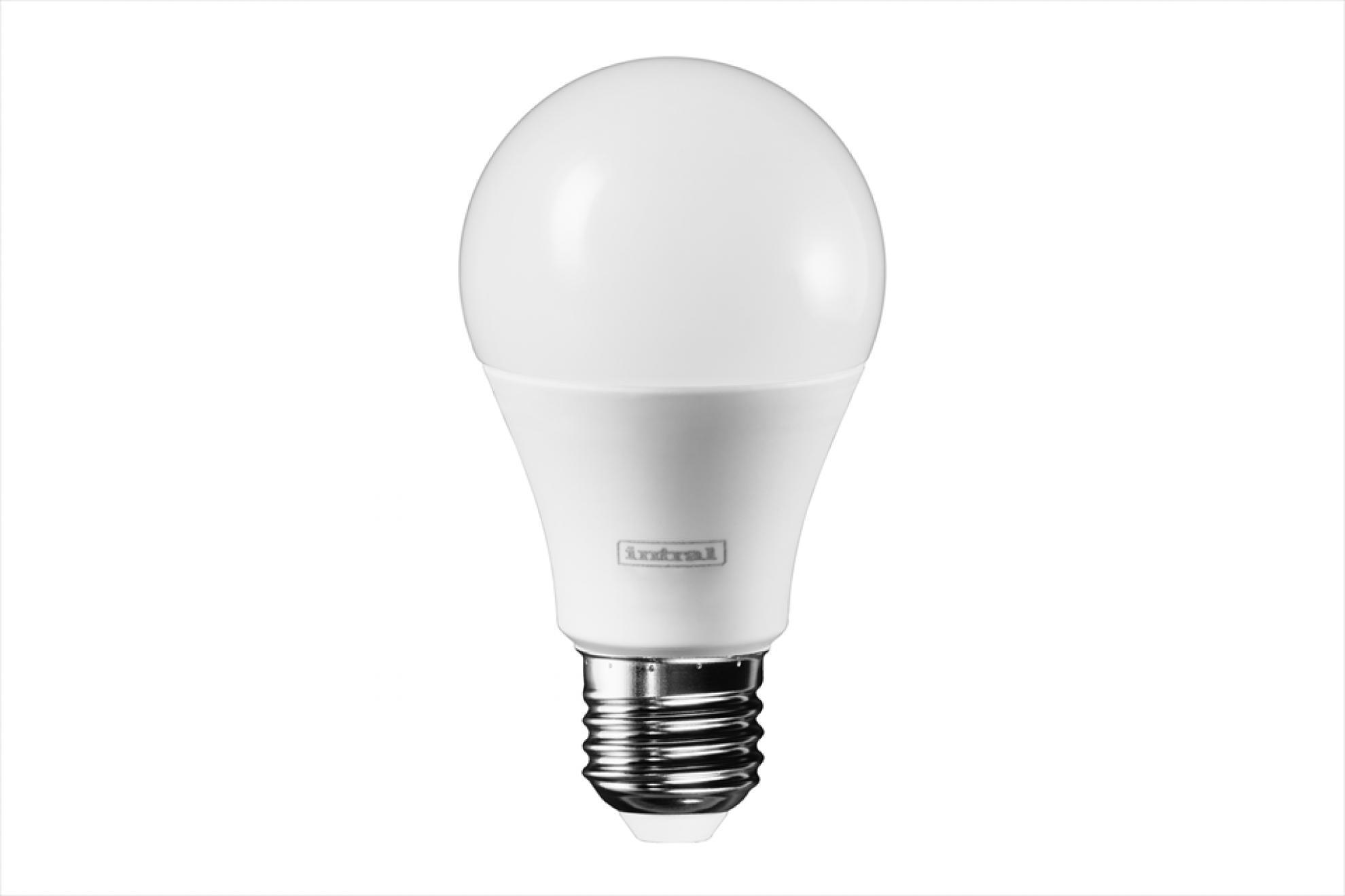 Lampada Led Bulbo 09,5w 3000k Biv A60