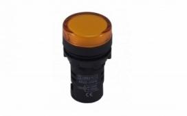 SINALEIRO LED 9MM AMARELO 24VCC/VCA SDK24