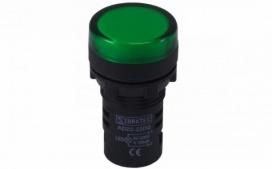 SINALEIRO LED 9MM VERDE 24VCC/VCA SDK24