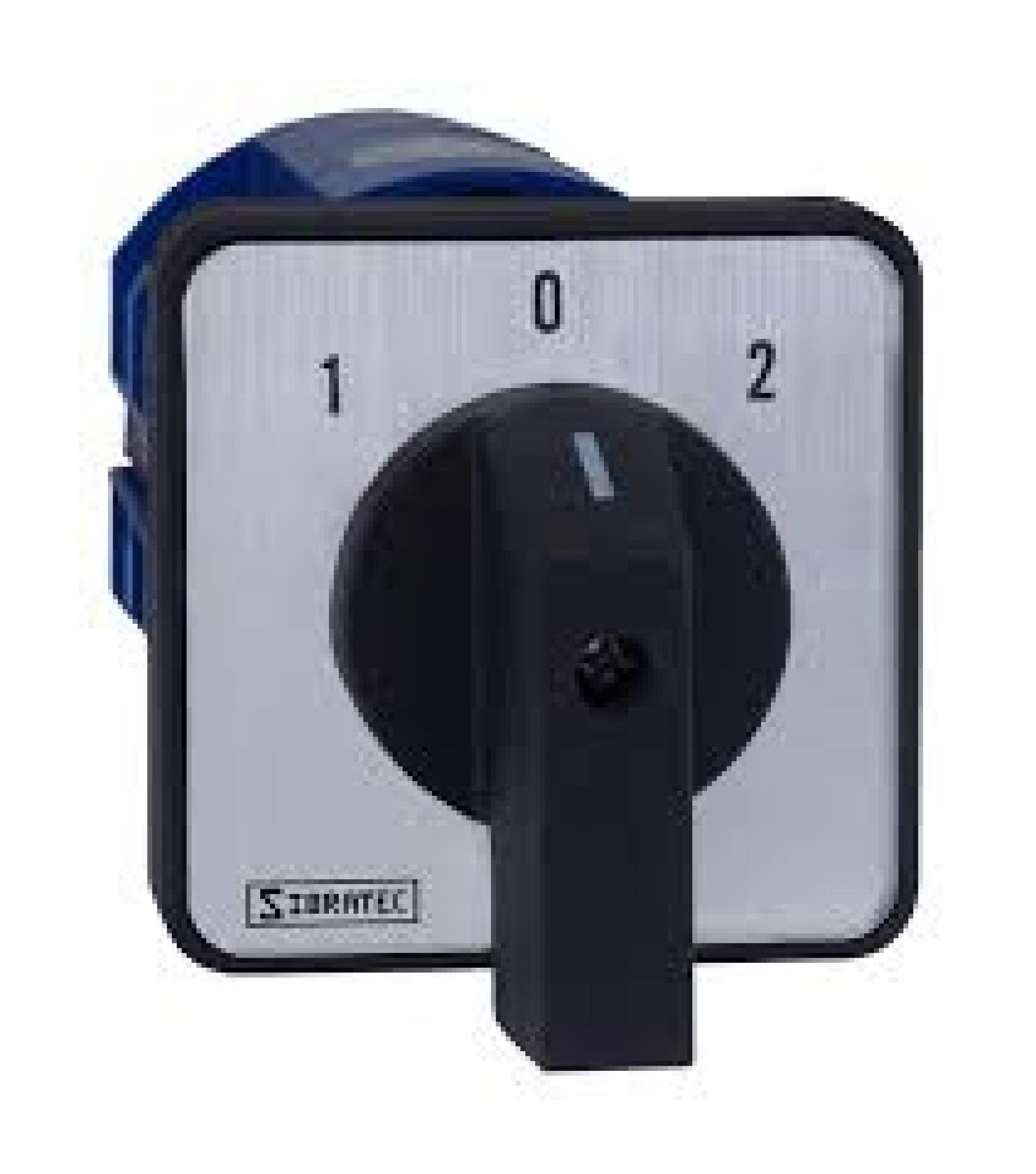 Chave de Transfer�ncia  4 Polos 32A - 3 Posi��es - LW28-63A-4P - Para Porta de Paine