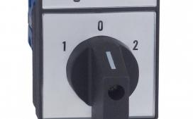 Chave Reversora LW28N-20A Trif�sica (Liga Desliga Liga) - Para Porta de Painel