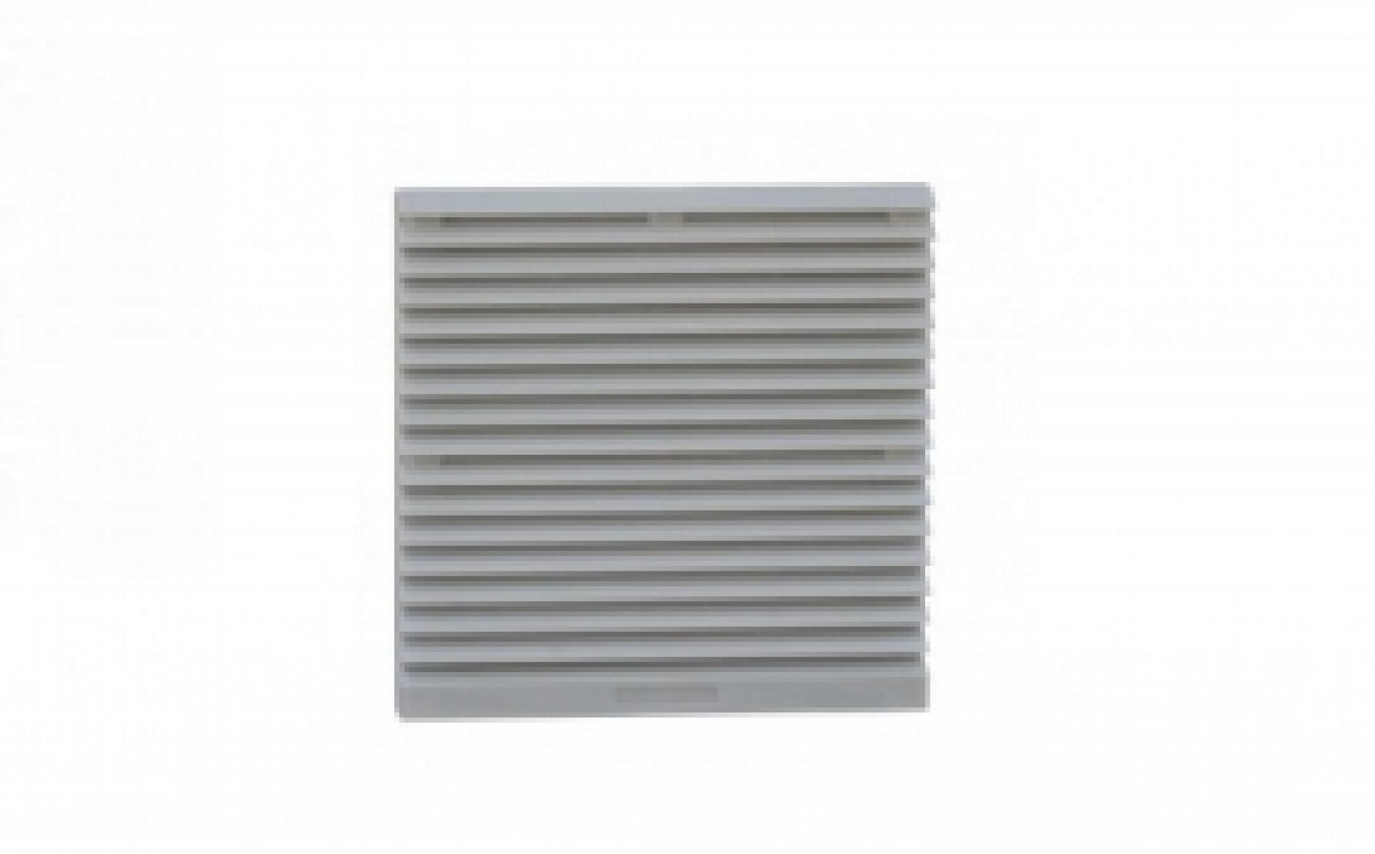 Veneziana Para Cooler 25,5 X 25,5 C/FILTRO