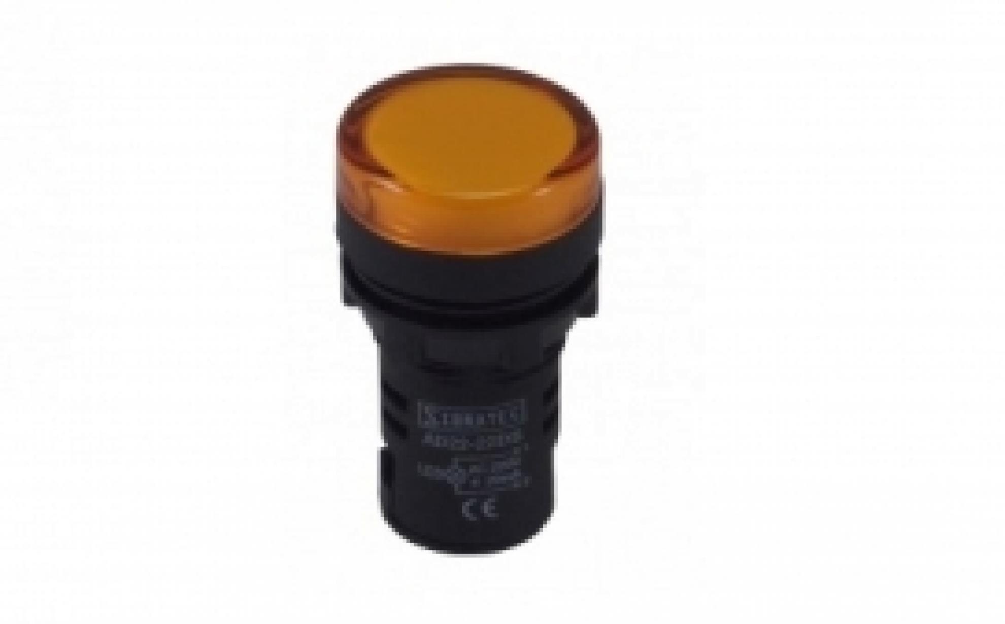 SINALEIRO LED 9MM AMARELO 110/220VSKD220Y