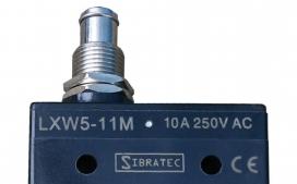 Chave fim de curso mini LXW5-11M com 1 Contato Revers�vel e Corpo Pl�stico