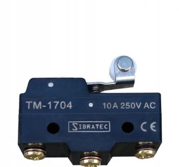 Chave fim de curso mini TM-1704 com 1 Contato Revers�vel e Corpo Pl�stico
