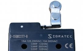 Chave fim de curso mini Z-15GW2277B com 1 Contato Revers�vel e Corpo Pl�stico