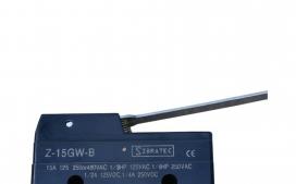 Chave fim de curso mini Z-15GW-B com 1 Contato Revers�vel e Corpo Pl�stico