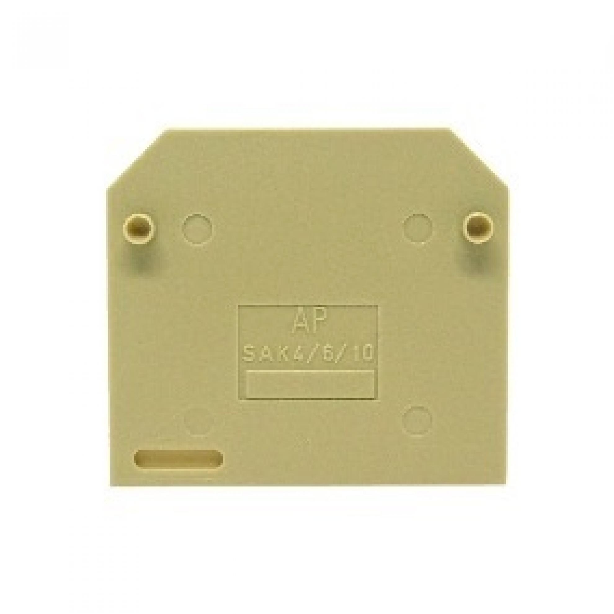 BORNE SAK PLACA FINAL 4 - 10 MM BEGE