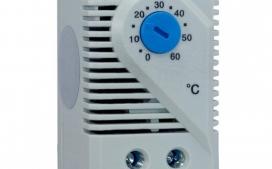 Termostato KTS 011 para Resfriamento 1NA 6A/250V Ajuste: 0~60C�