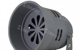 Sirene industrial MS-290 sonora motorizada 110dB 220V - Diametro 12,8cm