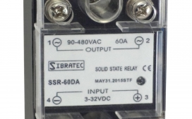 Rel� de Estado S�lido Monof�sico SSR-60Da 60A (Importado) Controle = 3~32Vcc ? Contato (60A) = 90~480Vca