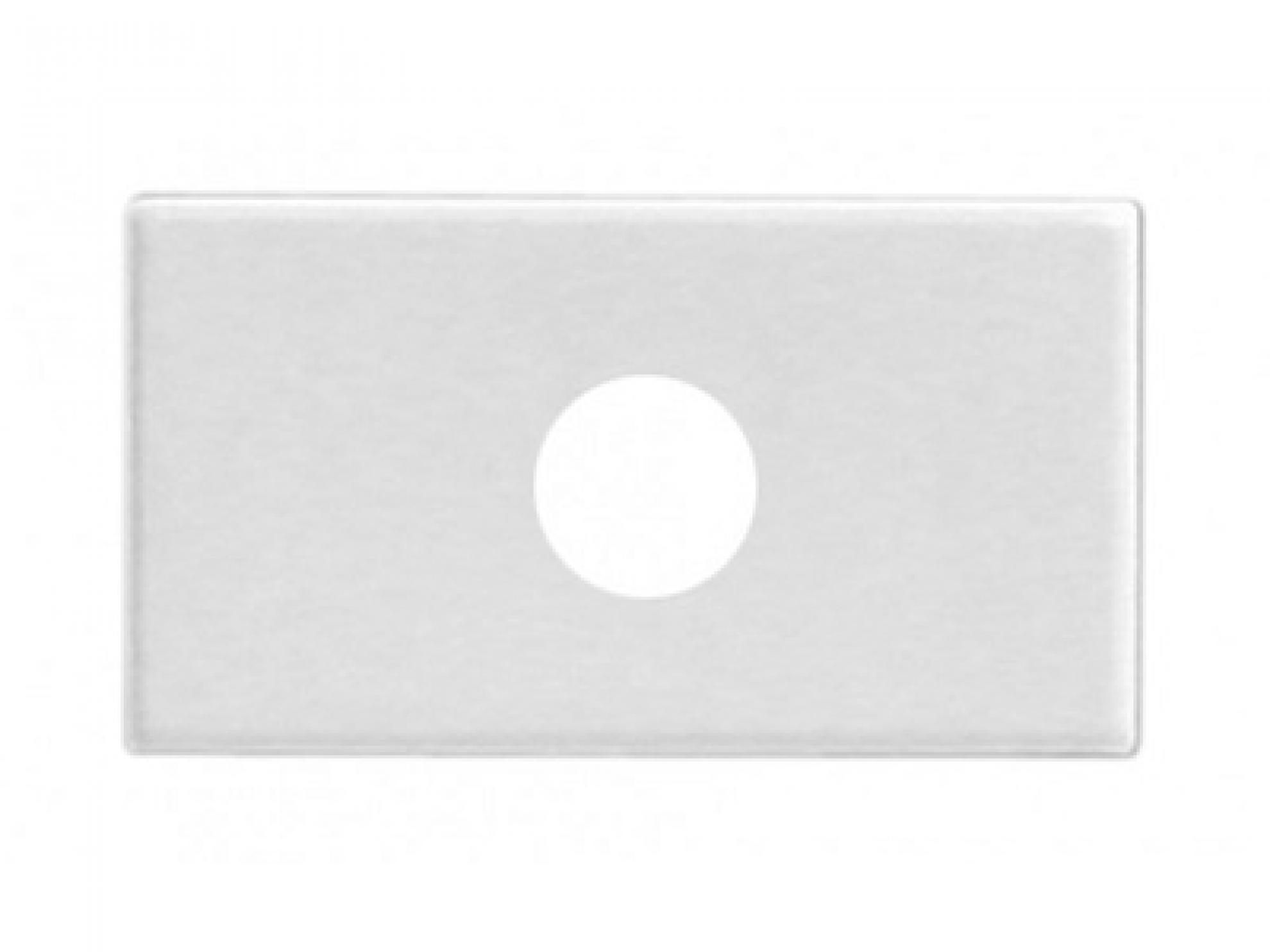 M�dulo Interruptor Cego C/Furo Branco -Talari