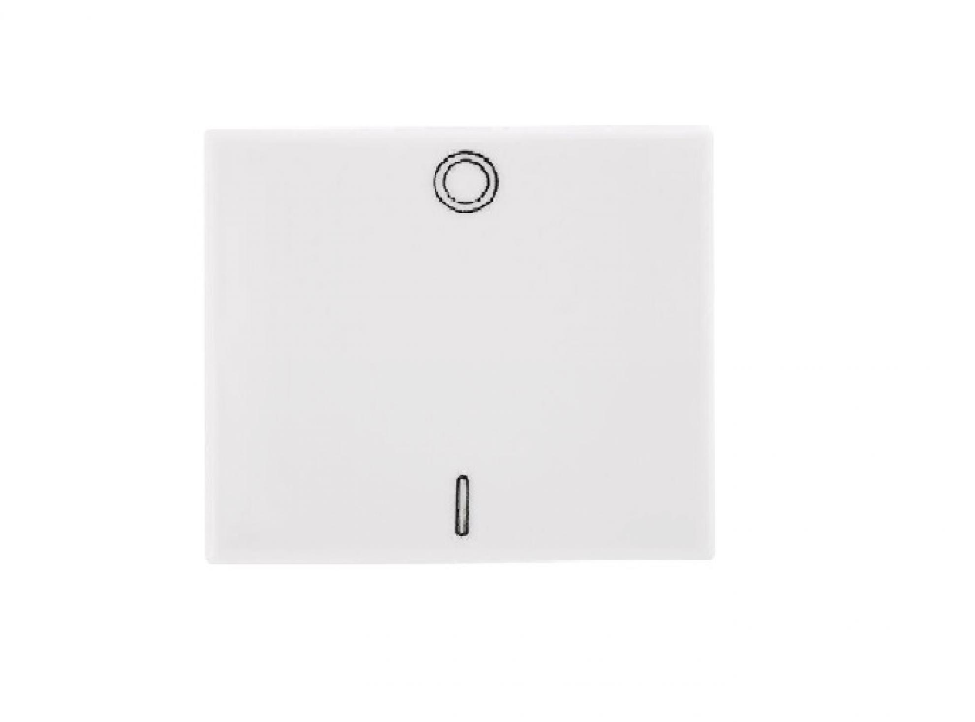 M�dulo Interruptor Bipolar Simples 25A Branco- Talari